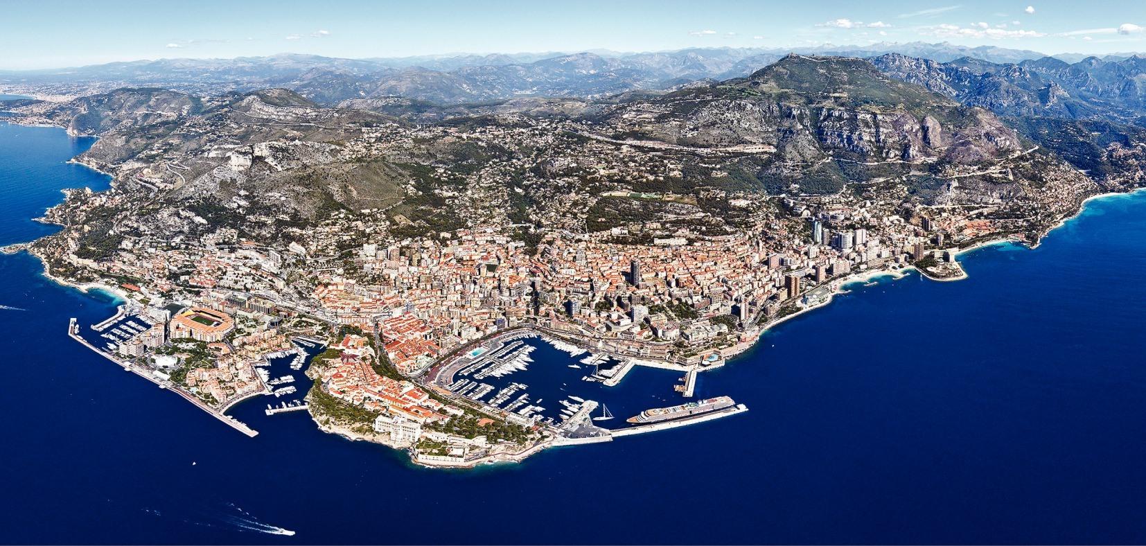 Административное деление Монако